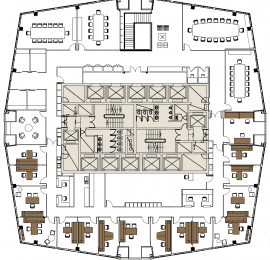 Floor plan for website